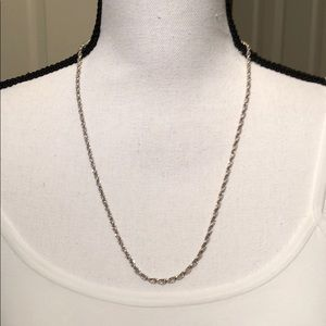 Jewelry - Sterling Silver Chain Necklace